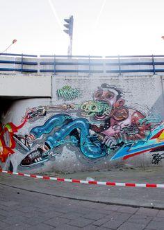Gore and Visceral Artworks by Nychos | Abduzeedo Design Inspiration