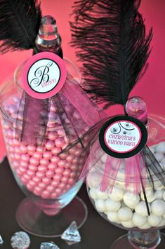 Pink BUNCO themed birthday party via Karas Party Ideas KarasPartyIdeas.com