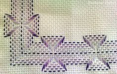Bordados yugoslavos en esquemas - Imagui Ribbon Embroidery, Embroidery Stitches, Huck Towels, Swedish Embroidery, Monks Cloth, Swedish Weaving, Charts And Graphs, Crochet Cross, Weaving Projects