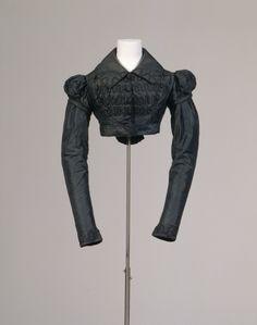 """1815 Spencer (Ärmeljacke (Spenzer im """"altdeutschen"""" Stil))  Germanisches National Museum number T4011"""