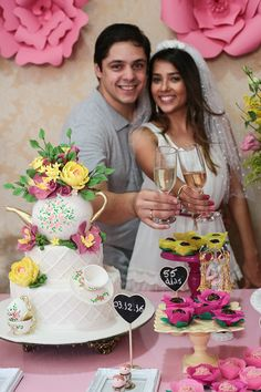 Chá de cozinha da Luma Luau, Open House, Tea Party, Party Themes, Diy And Crafts, Bridal Shower, Dream Wedding, Wedding Decorations, Milena