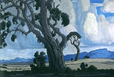 Jacobus Hendrik Pierneef is one of Africa's most renowned landscape artists. Forest Art, Art Painting, Tree Painting, Nature Art, Art, South African Art, South Africa Art, Forest Painting, Landscape Art