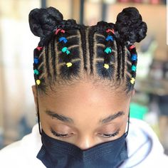 Little Girls Natural Hairstyles, Easy And Beautiful Hairstyles, Little Girl Braid Hairstyles, Two Braid Hairstyles, Kids Curly Hairstyles, Little Girl Braids, Black Baby Girl Hairstyles, Pelo Afro, Toddler Hair