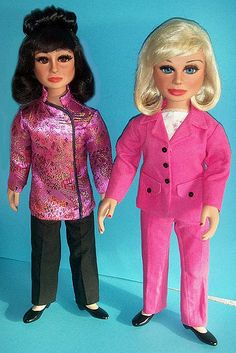 Tin-Tin  & Lady Penelope Porcelain replicas