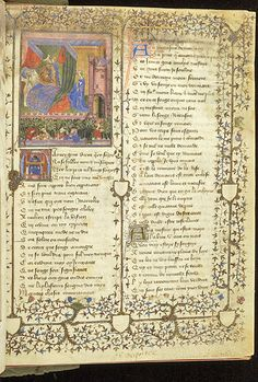 Roman de la Rose, MS M.245 fol. 1r - Images from Medieval and Renaissance Manuscripts - The Morgan Library & Museum