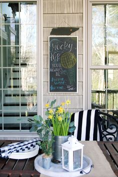 Easy DIY State Chalkboard Sign | Less Than Perfect Life of Bliss | home, diy, travel, parties, family, faith
