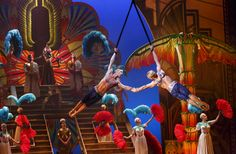 Combining the talents of Cirque du Soleil and Broadway, this spectacle has quickly become one of the most unique Broadway experiences out there!