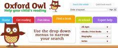Oxford Owl ebooks for children