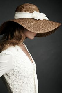 I want to pull off a big hat like this... hmmm