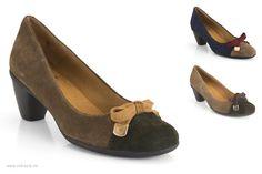 51445649 13212-5136D de la marca Mikaela. #MadeinSpain shoes. Salón cerrado con tacón