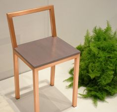 love! Assembly Designs Copper chair.