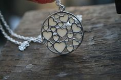 Hearts Afire Breast Milk Pendant - jewelry made from breastmilk I so wanna do this!