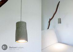 Beton-Lampe 'SLIM' , Pur von Betonfusion. auf DaWanda.com