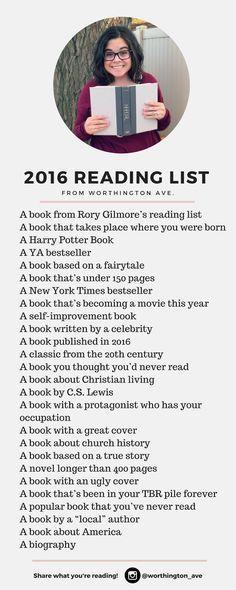 2016 Reading List -- Follow me here (https://www.goodreads.com/review/list/51324404-fotokiwi?shelf=2016-reading-challenge) for updates