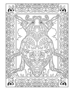 Creative Haven Incredible Insect Designs Coloring Book, Dover Publications