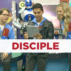 """To be a disciple of Jesus is to base every part of your life on him. The Konnect """"Disciple"""" unit teaches kids to choose Jesus, know Jesus, copy Jesus, and show Jesus.This four-part unit includes teaching videos, leader guides, craft and snack guides, and all other supporting materials."""