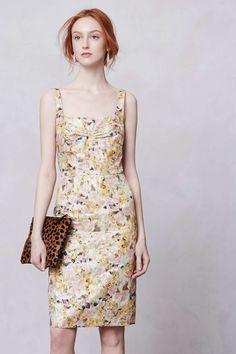 Aurelian Brocade Dress | Anthropologie.eu
