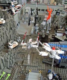 LEGO Star Wars diorama. lego_star_wars_diorama_2