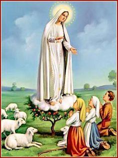 13 de mayo: Nuestra Señora de Fátima.