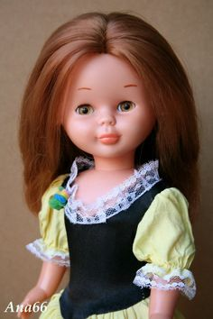 Nancy la reina de las muñecas hasta que llego la americanizada y delgada Barby