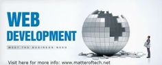 #Matter_of_Tech (MOT) is a Gurgaon based web design and development company that provides with all kinds of web solutions and web services.