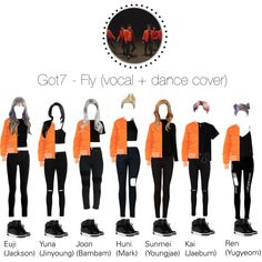 Got7 - Fly // Cover Got7, Yugyeom, Kpop Concert Outfit, Camp Outfits, Youth Camp, Mode Kpop, Inspired Outfits, Stylish Outfits, Polyvore Fashion