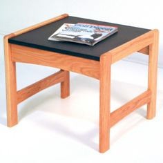 Wooden Mallet Dakota Wave End Table Finish: Light Oak