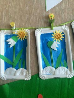Basteln mit Kindern im Frühling - Fasching Make snowdrops Caring Of A Tie If a tie could speak, it w Spring Crafts For Kids, Paper Crafts For Kids, Preschool Crafts, Diy For Kids, Paper Crafting, Diy And Crafts, Arts And Crafts, Diy Fleur Papier, Spring Decoration