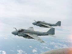 A-6 Intruders in formation