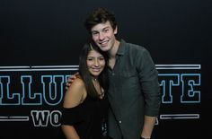 • can't believe I met shawn ahhh🙈