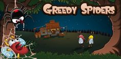 Greedy Spiders - A fun puzzle game that'll catch you in it's web :P