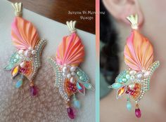 Butterfly Earrings by Serena Di Mercione