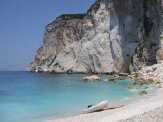 Erimitis beach Paxoi, Greece