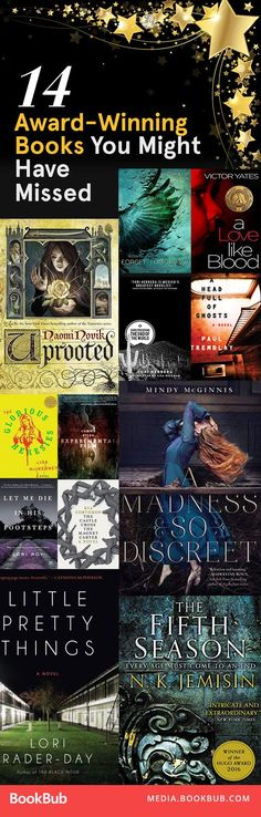 Award-winning books to read next -- add to your reading list before you forget!