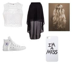 """""""Summer"""" by mayaxxo ❤ liked on Polyvore featuring Ally Fashion, Converse and LAUREN MOSHI"""