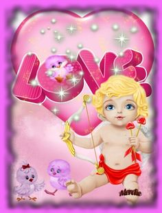 Princess Peach, Love, Fictional Characters, The Creation, Cards, Wings, Hearts, Amor, Fantasy Characters