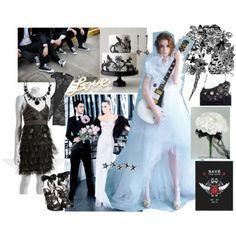Rock & Roll Wedding mood board