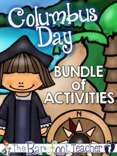 Columbus Day Bundle of Activities - 100+ printable pages of Columbus Day fun!