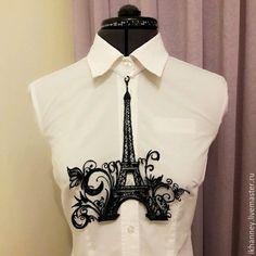 "Купить Кулон ""Эйфелева башня"" Париж - пластик, кулон, авторская работа, Париж, Эйфелева башня"