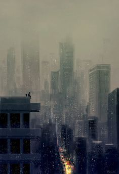 It s like a new world out there by PascalCampion