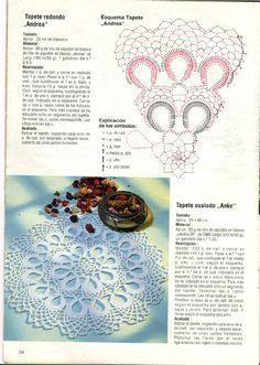 Kira scheme crochet: Scheme crochet no. 1292