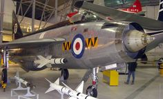 English Electric Lightning on display at the Imperial War Museum, Duxford Cambridgeshire. Airfix Models, Airplane Fighter, Air Force Aircraft, Royal Air Force, F 1, Royal Navy, Cold War, Military Aircraft, Airplanes