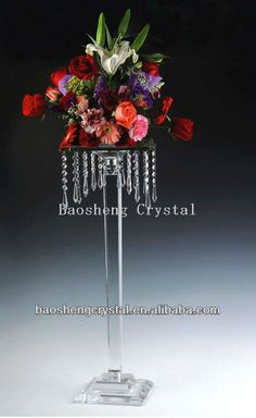 Cheap! Hanging Crystal Beaded Waterfall Centerpieces And Flower Stand For Wedding (bs-ch035) - Buy Centerpieces,Flower Stands,Wedding Centerpiece Product on Alibaba.com