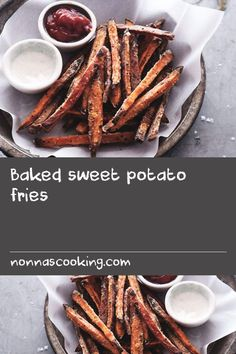 Baked sweet potato fries | I started wearing close-toed shoes a couple weeks ago. If that's not a sign that autumn has arrived, I don't know what is. I'm also finding myself drawn to using my oven once more. I couldn't have imagined anything more unpleasant than turning it on just a couple months back and yet here I am craving oven-baked sweet potato fries. There is so much discussion on the web about how to achieve faux deep-fried fries. For example, coating them with a thin layer of…