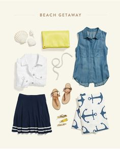 Sleeveless Chambray!