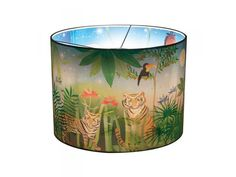 Jungle Wonderlamp - Large green leaves hide a whole Jungle on the inside of this amazing wonderlamp. Switch on the light and try to find the animals!