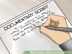 Image titled Make a Short Documentary Film (Best Techniques) Step 1
