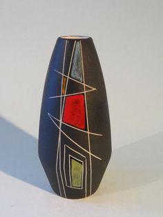 Ceramic Vase L'ANCORA (NL) - Dekor  KONGO