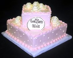 First Communion Cake.