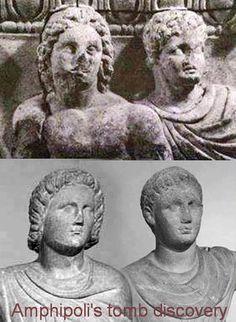 Ещё из средневековых изображений. Alexander the Great and Hephaestion